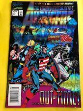 Avengers: The Terminatrix Objective #1 (Sep 1993, Marvel) VF