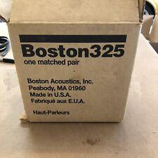 boston acoustics speakers 325 In Wall