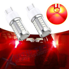 7443 7444 7440 7441 LED Bulbs Brake Stop Light Lamp Red Super Bright Accessories