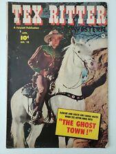 Tex Ritter Western (1952) #10  Comic book