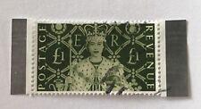 GB Sg Ms2147 £1 Stamp F/U Cat £21 As Mini Sheet