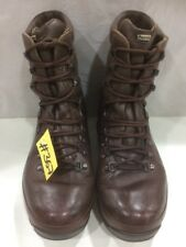 Used ALT-BERG  Defender Army Issue Brown Leather Combat Boots 9M Male #367