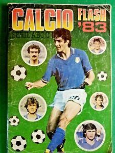 ALBUM CALCIATORI  EDIZIONE FLASH CALCIO 83 , PERFETTO COMPLETISSIMO - RIF.384
