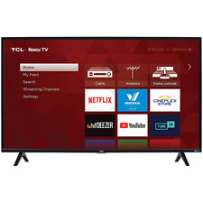 TCL 40S325 40-Inch Class LED 3-Series  1080p 3 HDMI USB Smart Roku TV, Black