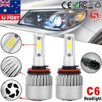 2X 36W H8 H9 H11 8000LM LED Headlight Kit Car Fog Globe Bulbs COB Beam Headlamp