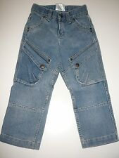 Tolle Jeans Hose Gr. 98 mit trendigen Taschen !