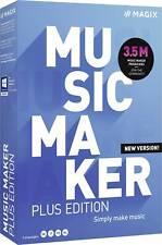 Magix Music Maker Plus Edition (2021) Vollversion, 1 Lizenz Windows Musik-Softwa