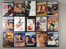 Classic Military & War Movies, various prices. Combined shipping.
