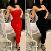 Women Bandage Bodycon Dress Formal Wedding Bridesmaid Evening Party Prom Gown
