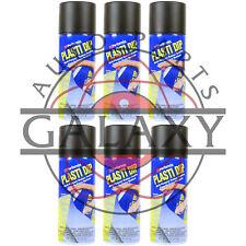 Performix 11203 Plasti Dip Black Aerosol - 11 oz. X6 Spray Cans