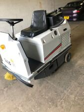 More details for battery powered ride on floor sweeper warehouse racking unit floor