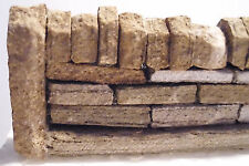 HM5 - Real Yorkshire Mill Stone Grit Roadside Dry Stone Walling 177mm '00' Gauge