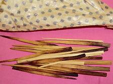 20 Stück Rouladensticker aus Holz geschnitzt