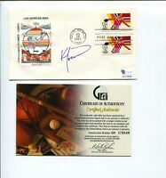Ken Morrow 1980 Miracle On Ice USA Olympic Gold Hockey Signed Autograph FDC COA