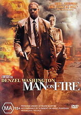 Man On Fire - Action / Thriller / Drama - Denzel Washington - NEW DVD