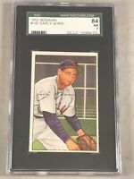 1952 BOWMAN #142 EARLY WYNN SGC 84 NM 7 HOF