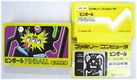 FAMICOM NES FC PINBALL NINTENDO 1983 BOXED JAPAN