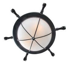 LNC 2-Light Nautical Flush Mount Ceiling Light