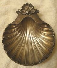 Silverplate Shell Footed Dish Reproduction of Design Sheffield England 1700-1800