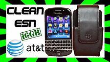 Blackberry Q10 16GB✓ AT&T✓ Black✓ BUNDLE✓ CLEAN ESN✓