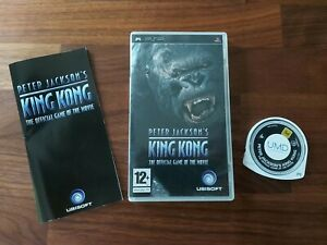 PETER JACKSON'S KING KONG Official Game Of The Movie Sony PSP Game Complete