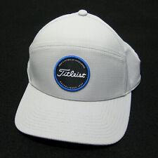 New TITLEIST Men's Gray Silver Golf Baseball Cap Hat Adult Adjustable Snapback