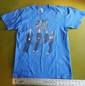 COLDPLAY American Apparel Medium T-shirt  Myloxyloto TOUR 2013 CONCERT BLUE