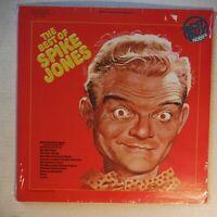 THE BEST OF SPIKE JONES – SEALED 12 INCH 33 RPM VINYL  ALBUM - RCA AYL1-3748