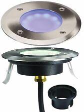 Knightsbridge LED Blue Ground/Deck Light 230V IP65 1.2W Outside Garden Lighting