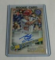 ANDREW STEVENSON - 2018 TOPPS GYPSY QUEEN - ROOKIE AUTOGRAPH - NATIONALS -