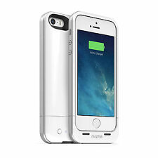 White - Mophie Juice Pack Air Battery Case for iPhone 5/5s/SE 100% Extra Battery