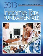 Income Tax Fundamentals 2013 by Gerald E. Whittenburg, Steven L. Gill and Marth…