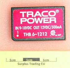TRACO THB 6-1212 Regulated DC-DC Converter 12V 500mA
