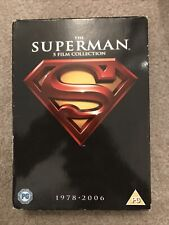 Superman: The 5 Film Collection - 1978-2006 (DVD). Very Good Disc Condition
