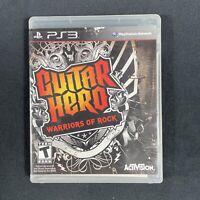 Guitar Hero: Warriors of Rock (Sony PlayStation 3, 2010)