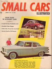 Small Cars Magazine January 1959 German DKW Studebaker 080817nonjhe