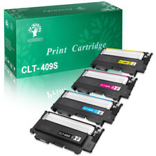 4PK CLT-409S For Samsung CLP-315 Color TONER CLP-315W CLX-3175FN CLX-3175FW US