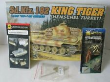 "Dragon 1/35 dt. Panzer VII ""Tiger II"" Henschel-Version + PE-Satz+ Rohr+ Cable"