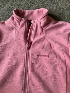 Womens Craghoppers Fleece Jacket Top Uk.16