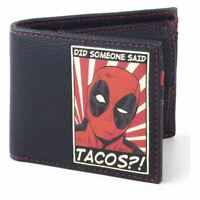 Marvel Comics Deadpool Avez-Vous Someone Said Tascos Patch Repliable Wallet Mâle