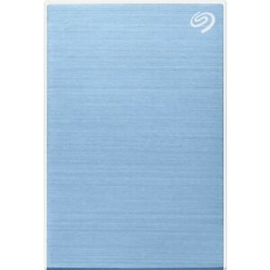 NEW Seagate STKC5000402 One Touch Portable Drive Light Blue 5 TB Hard HDD 5TB