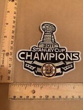 NHL BOSTON BRUINS  Stanley Cup champions 2011 embroidered crest patch