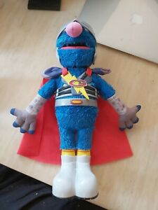 Flying Super Grover-Sesame Street Talking Toy 2011 hasbro toy 39995