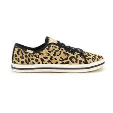 Keds X Kate Spade New York De Partida Leopardo Big Kids Shoes KK161441 Novo!