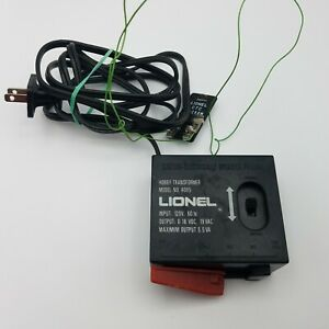 Lionel Hobby Transformer Model 4065 0-18 VDC 19 VAC  with CTC Lockon Tested