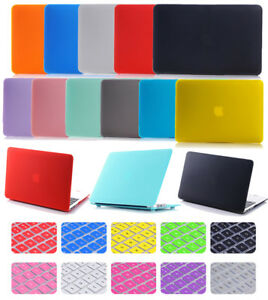 """Anti-Scratch Matte Hard Case+ Keyboard Cover for MacBook White 13"""" 13.3"""" A1342"""