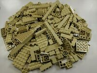 200 Random LEGO Tan Bulk Lot of Bricks Plates Specialty Parts Pieces Star Wars