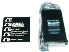 Omega 680 Microprocessor Digital Thermometer with Autoranging - NEW - IN BOX