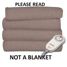 SAFE- ELECTRIC BLANKET -- NO EMFs -- how i built mine --CD