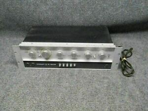 Crown Model IC 150A Control Stereo Preamplifier *Tested*